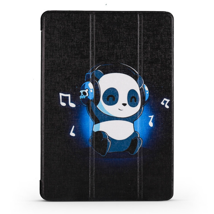 Чехол- книжка Music Panda Pattern на Айпад Эйр 2019 / Про 10.5