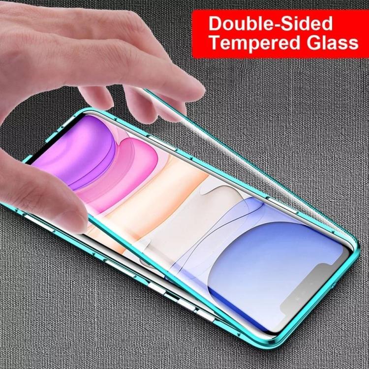 Двусторонний магнитный чехол Magnetic Shell Series для iPhone 11 -золотой