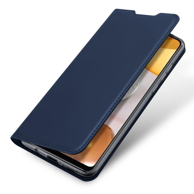 Чехол-книжка DUX DUCIS Skin Pro Series на Samsung Galaxy A42 - синий