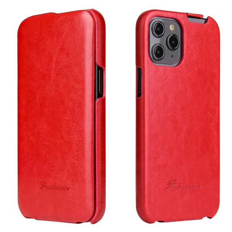 Кожаный флип-чехол на Айфон 12