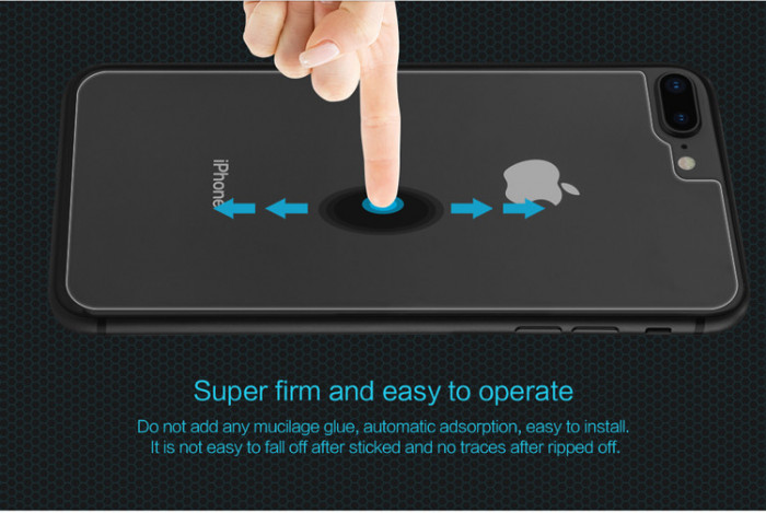Защитное стекло Nillkin на заднюю панель для Apple iPhone 7 plus / 8 plus