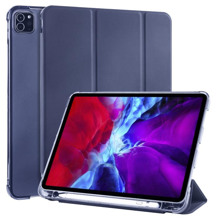 Чехол-книжка 3-folding Horizontal Flip для iPad Pro 11 2020 / iPad Pro 11 2018/Air 2020 - синий