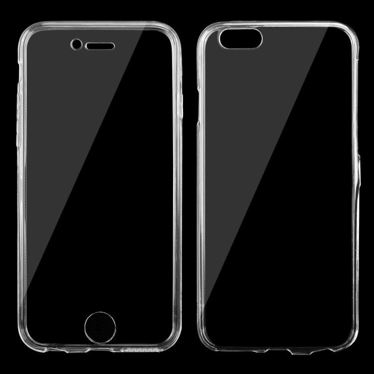 Двусторонний ультратонкий чехол на iPhone 6 & 6s 0.75mm
