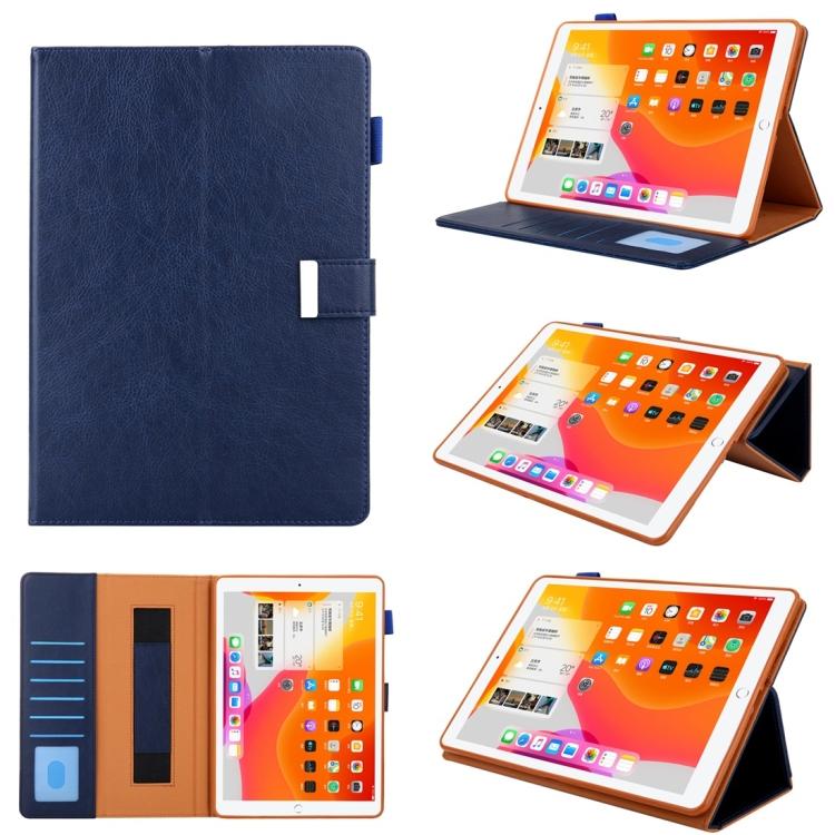 Чехол-книжка Business Style для iPad mini 1 / 2 / 3 / 4 / 5 - синий