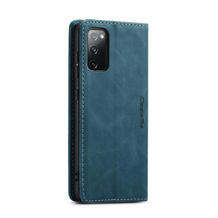 Чехол-книжка CaseMe 013 Multifunctional на Samsung Galaxy S20 FE - синий