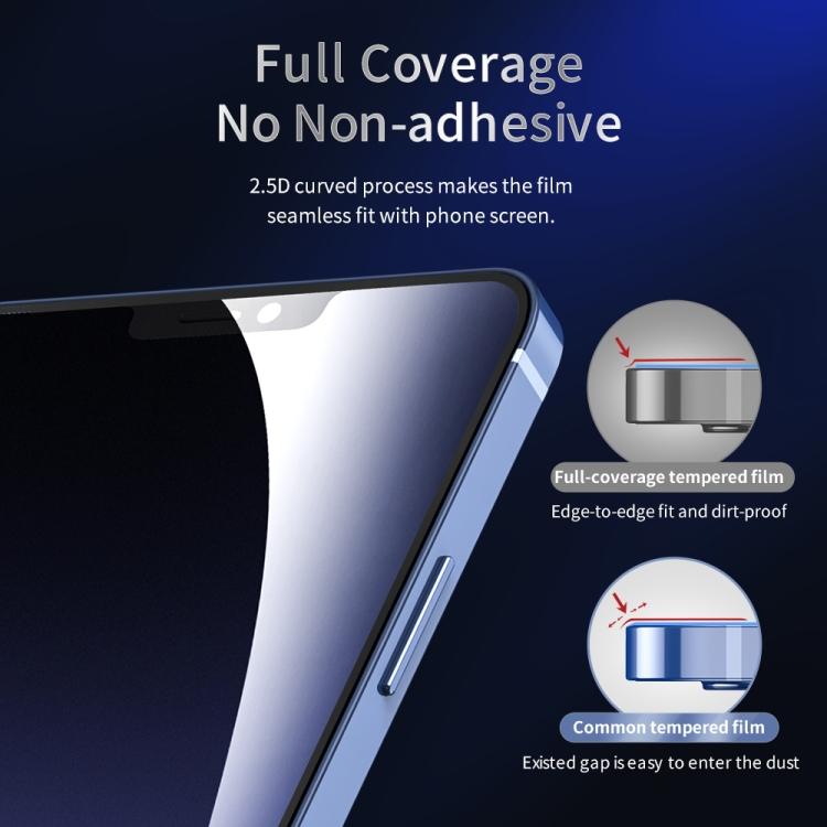 Защитное стекло ROCK  HD Full Screen для Айфон 12 Мини