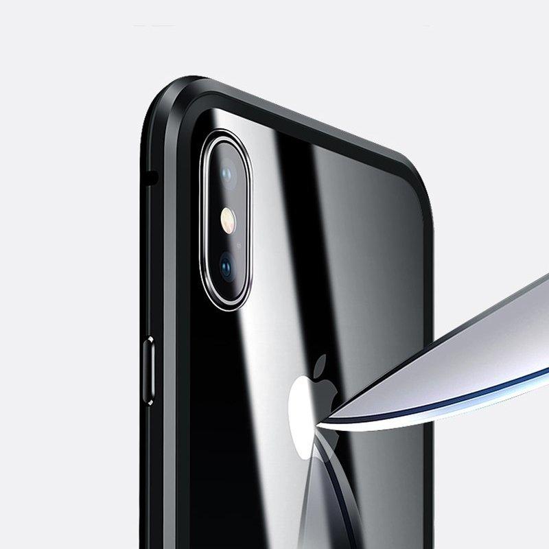 Двусторонний магнитный чехол Wozinsky на Айфон 11 Про - черный