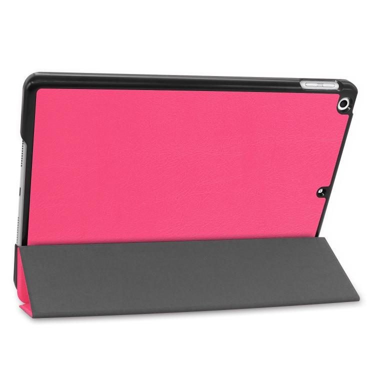 Чехол-книжка розового цвета с подставкой на Айпад 7 10.2