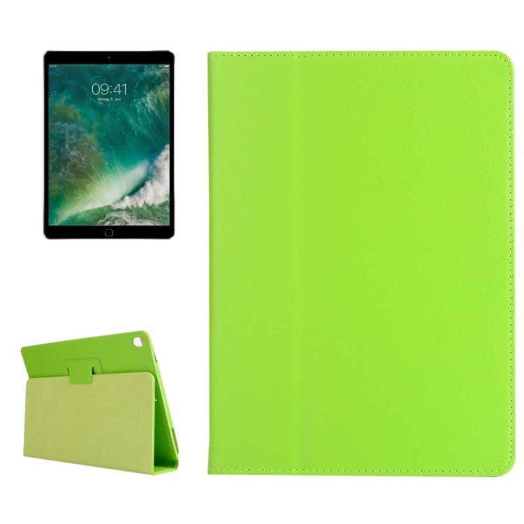 Чехол-книжка Litchi Texture 2-fold на iPad Pro 10.5/Air 2019-зеленый