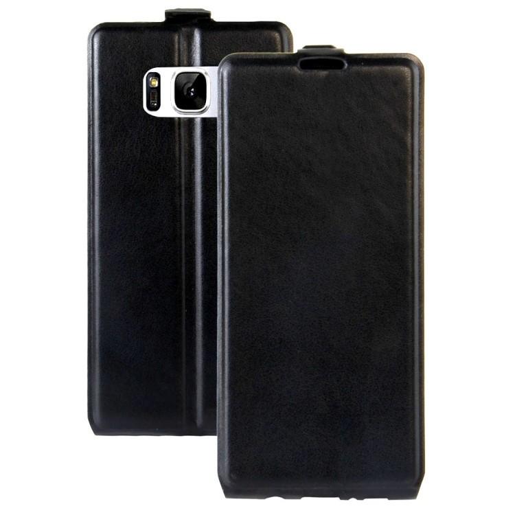 Кожаный флип- чехол на Samsung Galaxy S8/G950-черный