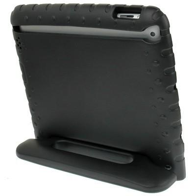 Противоударный чехол EVA Drop Resistance с ручкой черный для Айпад  4/ 3/ 2