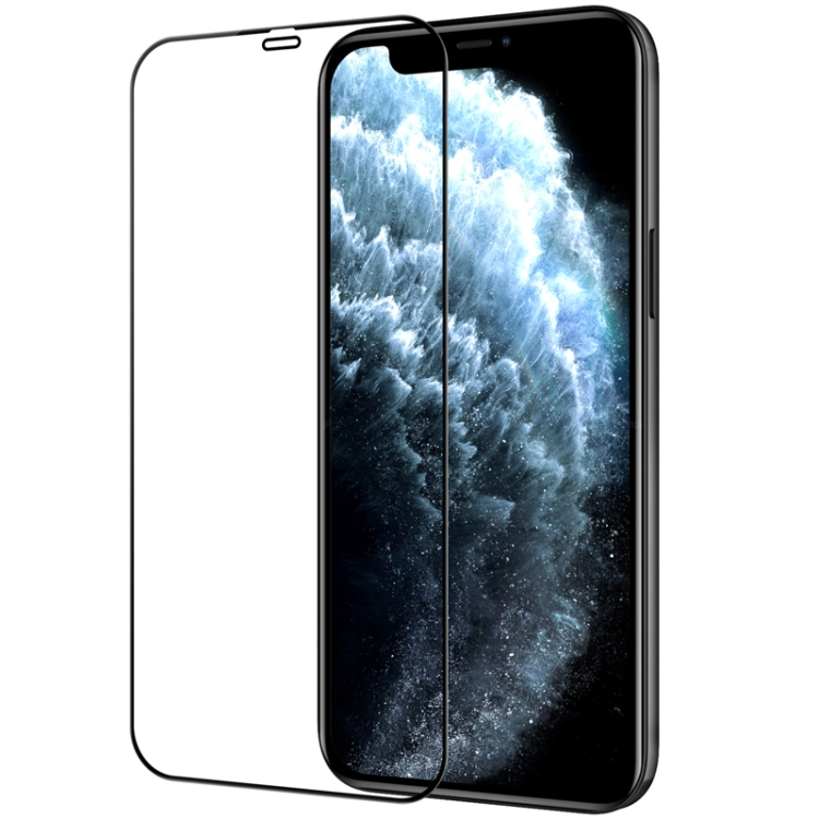 Защитное стекло Nillkin (CP+PRO) для iPhone 12 Pro Max - черное
