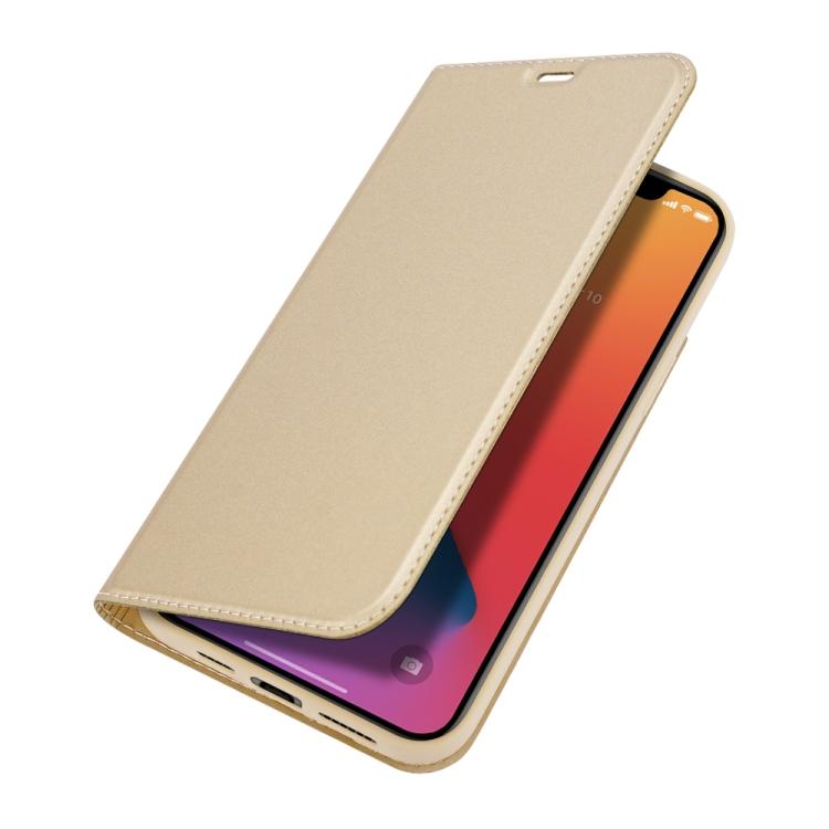 Чехол-книжка DUX DUCIS Skin Pro Series на iPhone 12 Pro Max - золотой