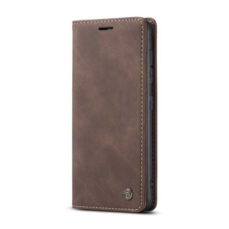 Чехол-книжка CaseMe 013 Multifunctional на Samsung Galaxy S20 FE - кофейный
