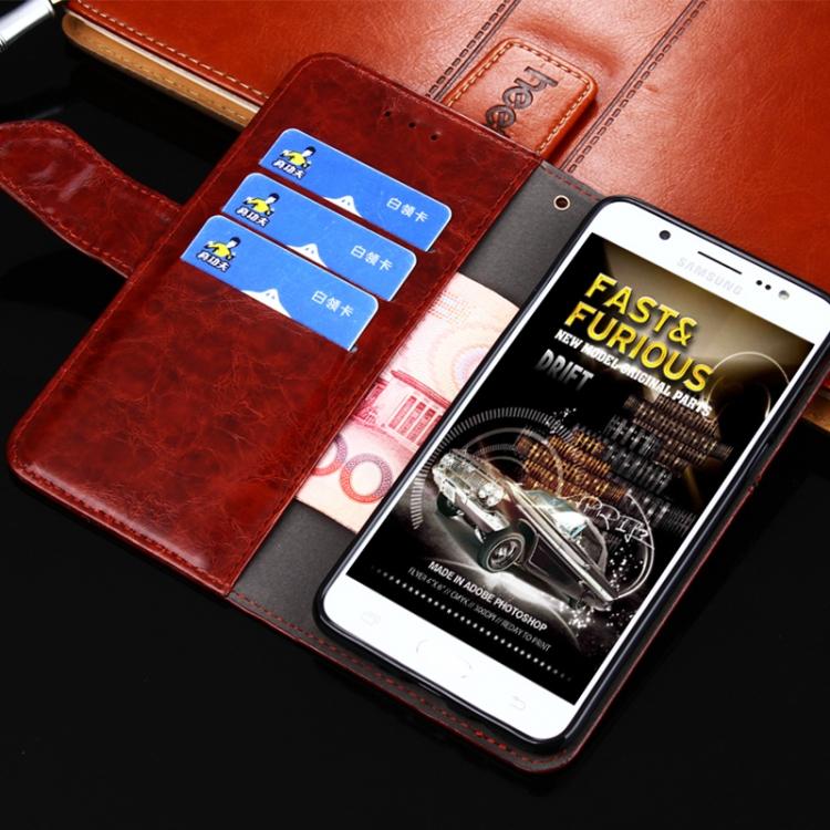 Кожаный чехол-книжка с слотами под кредитки на Сяоми Редми 9Ц