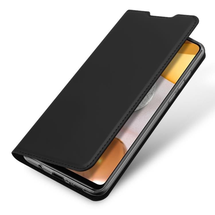Чехол-книжка DUX DUCIS Skin Pro Series на Samsung Galaxy A42 - черный