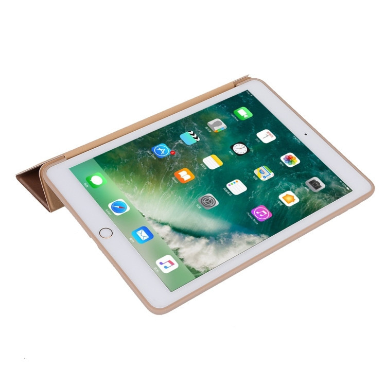 Золотой чехол-книжка Three-folding Holder для iPad 8/7 10.2