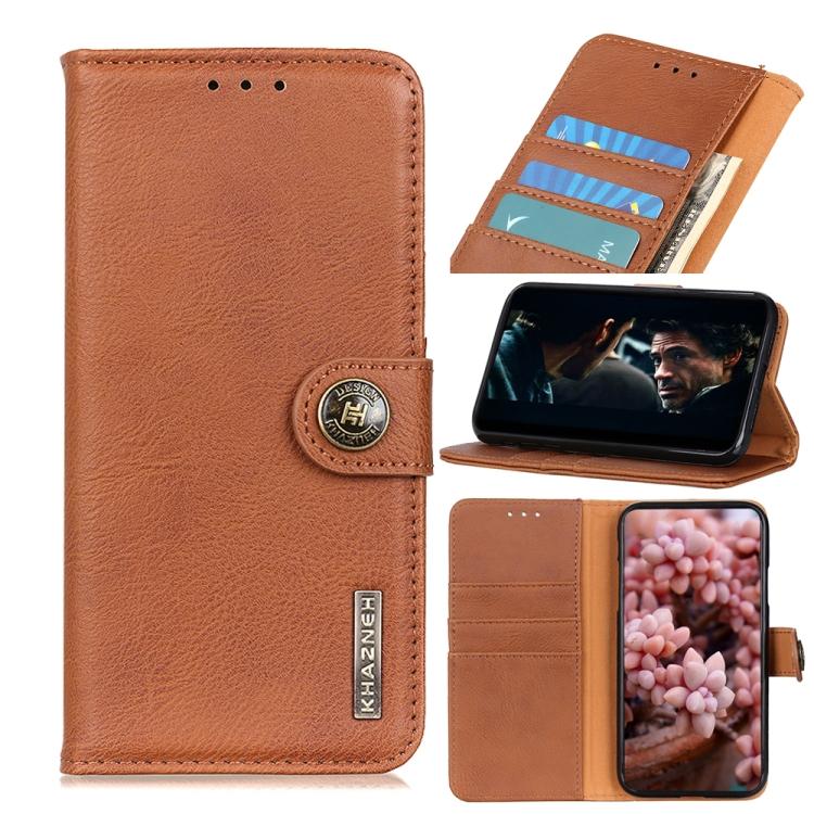 Чехол-книжка Cowhide Texture KHAZNEH на Samsung A32