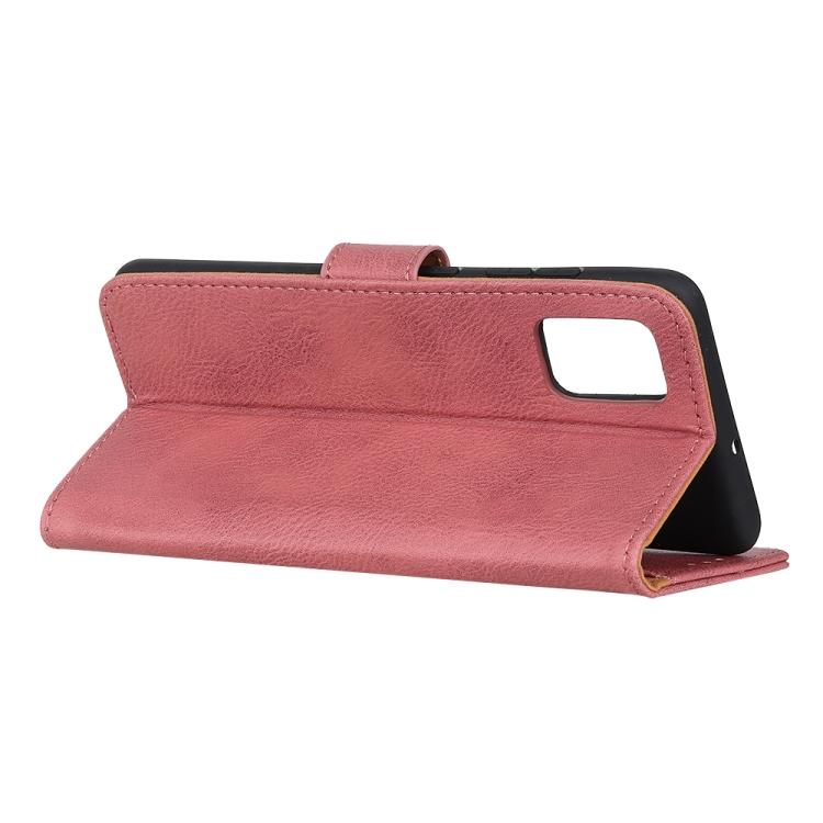 Чехол-книжка с складной подставкой розового цвета для Самсунг Гелекси А72