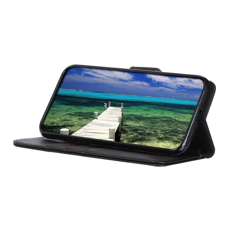 Чехол-книжка со слотами KHAZNEH Black Cowhide для Xiaomi Mi 11 Pro 5G / 4G