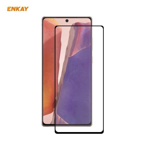 Защитное Стекло ENKAY Full Glue 0.2mm 9H 3D для Samsung Galaxy Note 20
