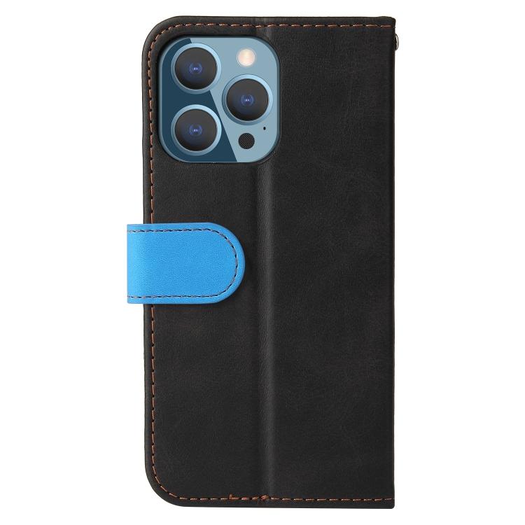 Чехол-книжка для Айфон 13 Pro - синий