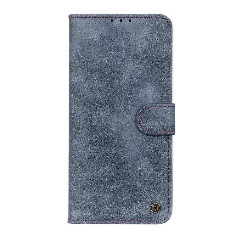 Ударостойкий чехол-книжка синего цвета для Сяоми Ми 10Т