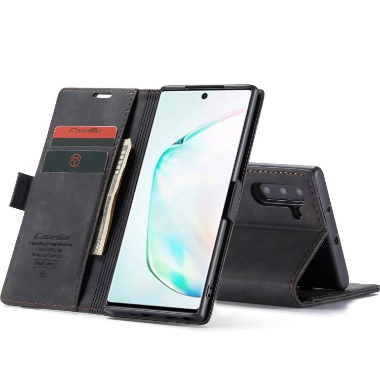 Кожаный чехол CaseMe-013 Multifunctional на Samsung Galaxy Note 10- черный