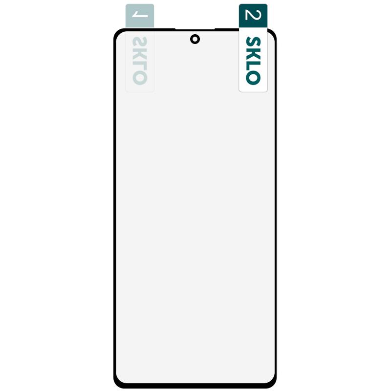 Защитное стекло на Самсунг Галакси С10 Лайт/А71