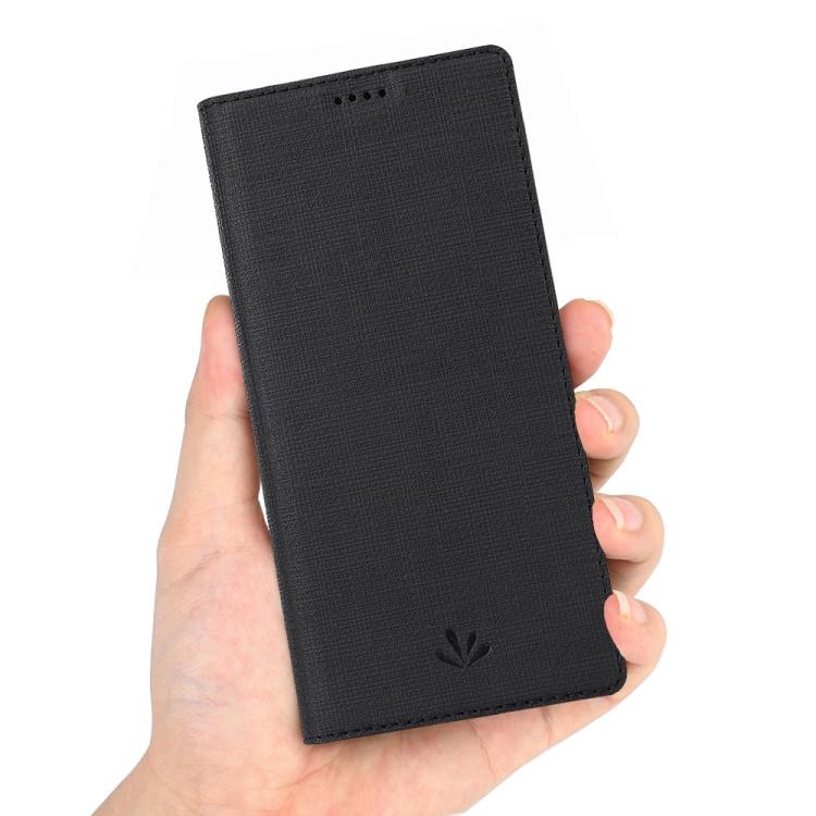 Чехол- книжка ViLi Texture на Samsung Galaxy A10- черный