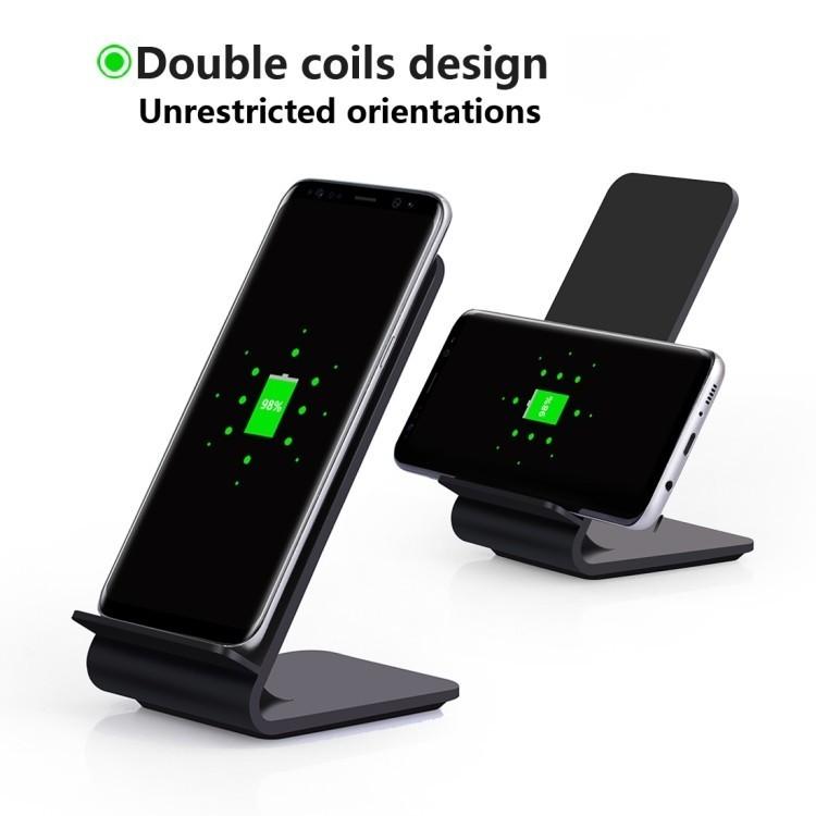 Зарядная станция для Айфон черного цвета
