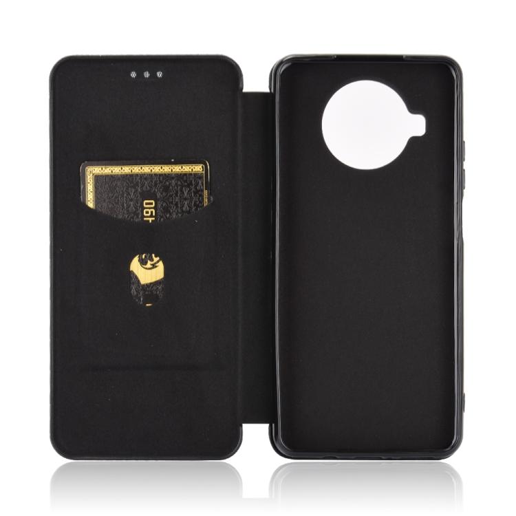Чехол-книжка на Ксяоми Mi 10T Lite - черный