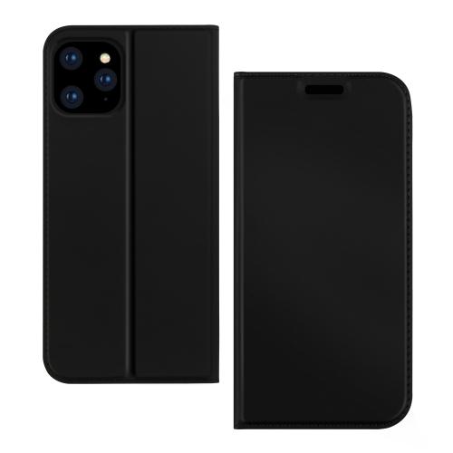 Черный чехол-книжка для Айфон 12