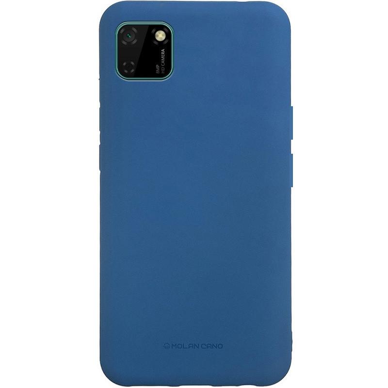 Силиконовый чехол Molan Cano Smooth для Realme C11 - синий