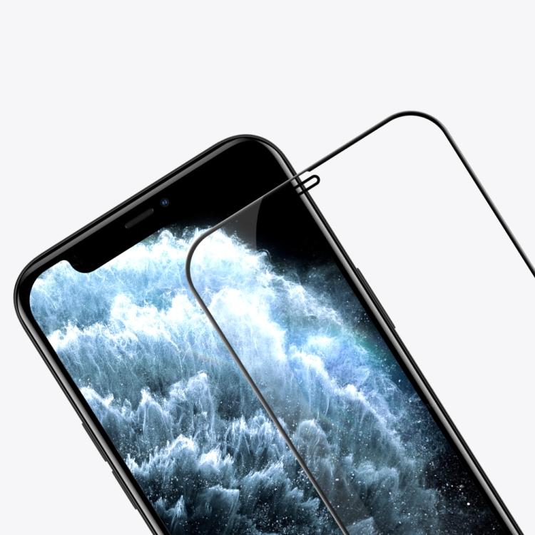 Защитное стекло Nillkin (CP+PRO) для Айфон 12 Mini- черное