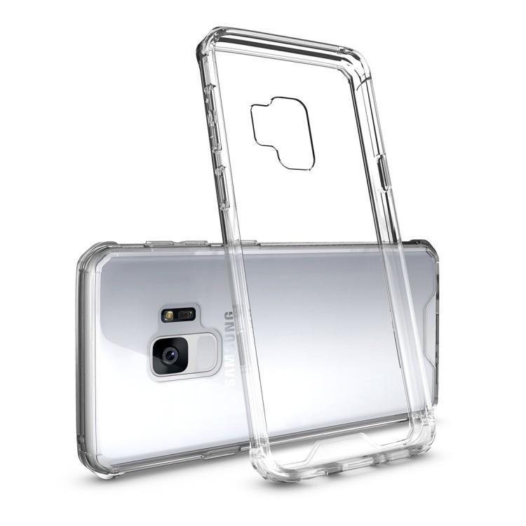 Противоударный чехол на Самсунг Галакси S9/G960  Armor Protective Back Cover Case прозрачный