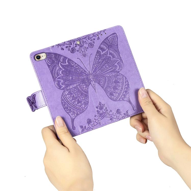Чехол-книжка на Айфон SE 2 2020/7/8 - фиолетовый