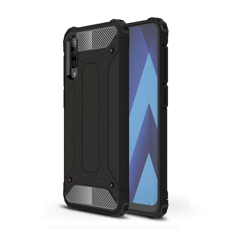 Противоударный чехол Rugged Armor на Samsung Galaxy A50/A30s/A50s-черный
