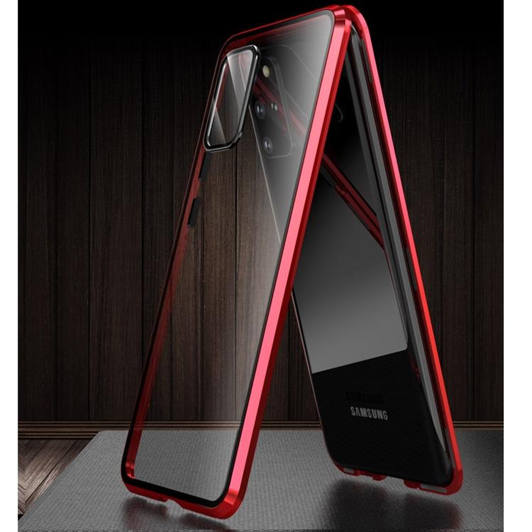 Двусторонний стеклянный чехол на Samsung Galaxy S20