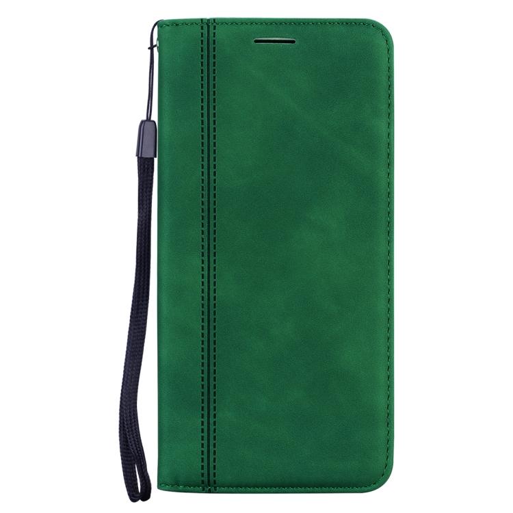 Чехол-книжка Frosted зеленого цвета на Galaxy A32 4G