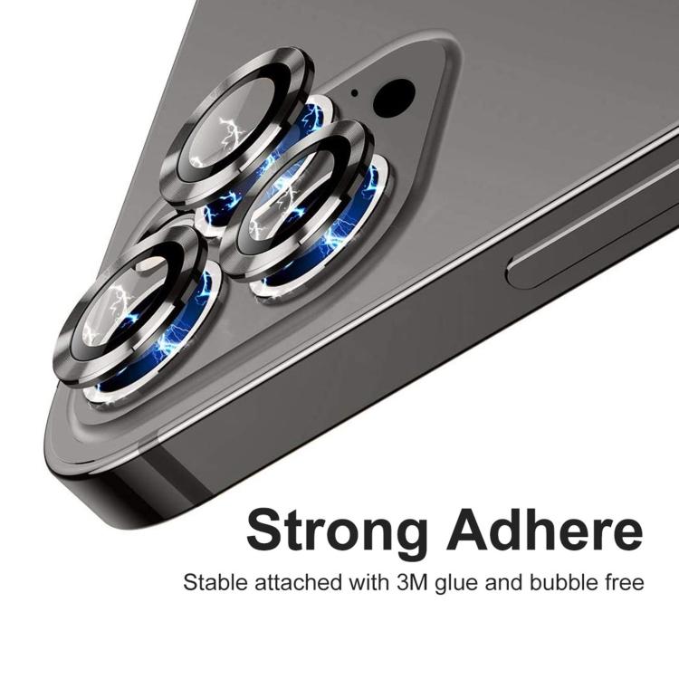 Защитное стекло на камеру ENKAY Hat-Prince для iPhone 12 Pro Max - черное