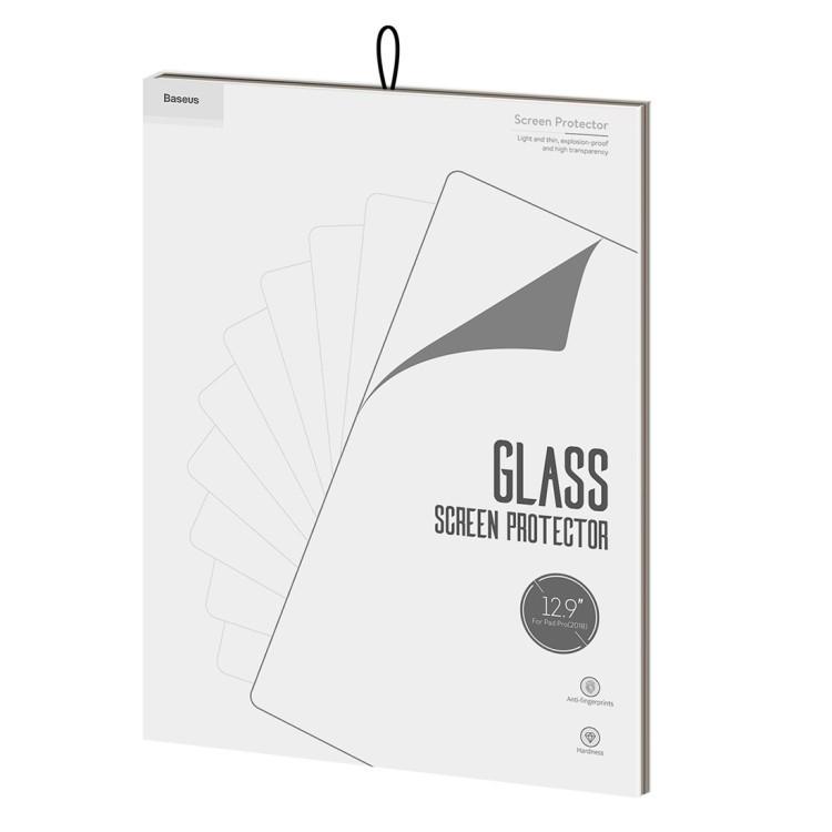 Защитное каленое стекло для Айпад Про 12.9 чисто белое