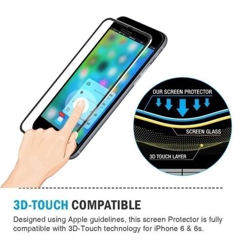 защитное 3д стекло на Айфон 7