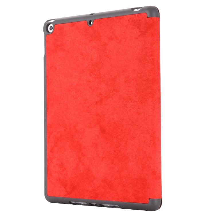 Чехол-книжка красного цвета для Айпад 7 10.2