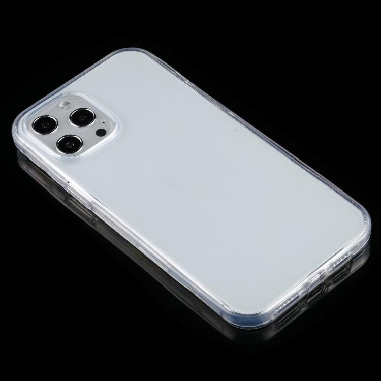 Двусторонний ультратонкий силиконовый чехол на iPhone 12 Pro Max