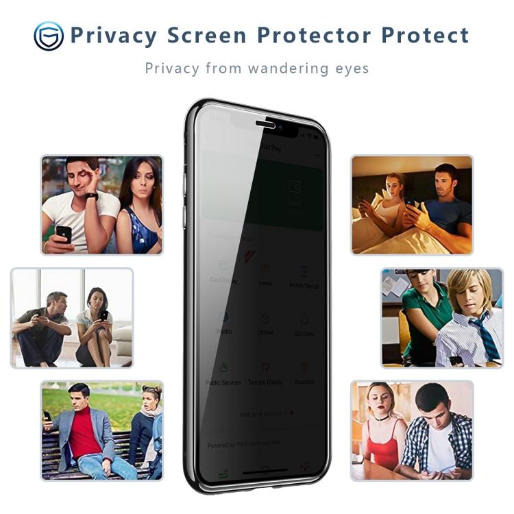 Двухсторонний стеклянный магнитный чехол для Айфон 12 / 12 Pro - красный