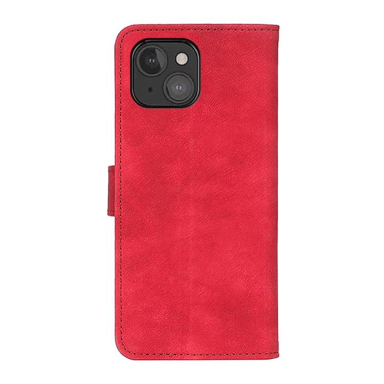 Чехол-книжка на Айфон 13 мини - красный