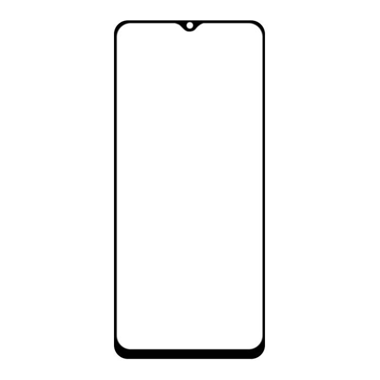Защитное стекло 3D Full Glue Full Screen на Realme C11 - черное
