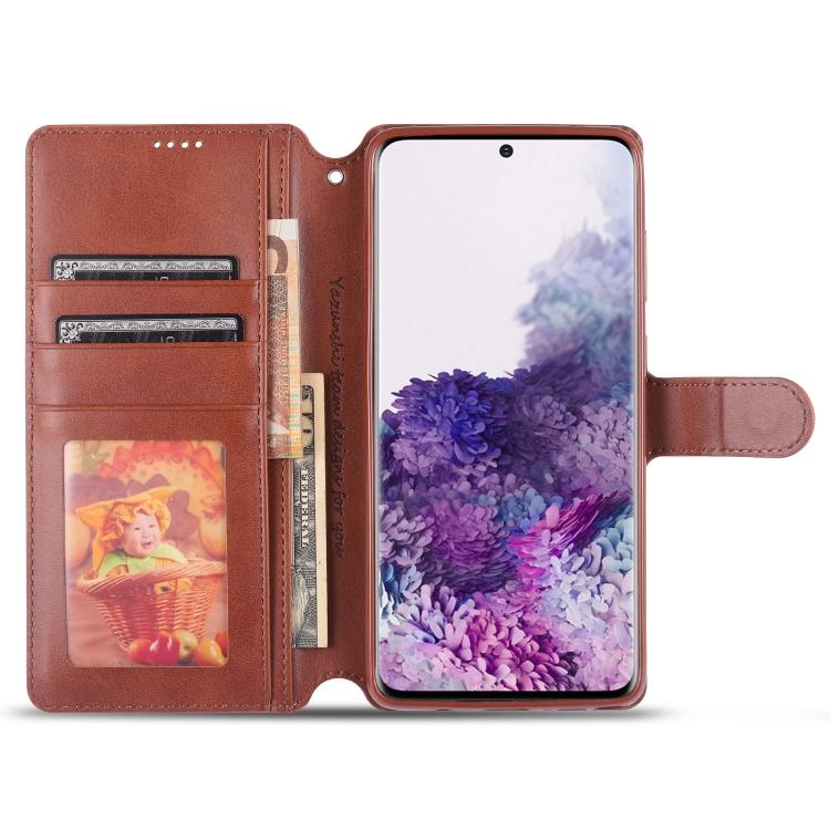 Кожаный чехол для Samsung A81/M60S/Note 10 Lite