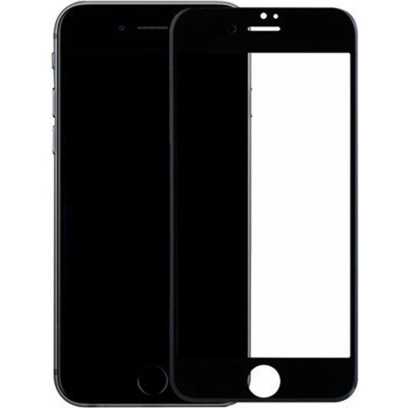 Защитное 3D стекло для Эпл Айфон - черное